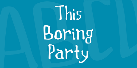 this-boring-party-font-1-big