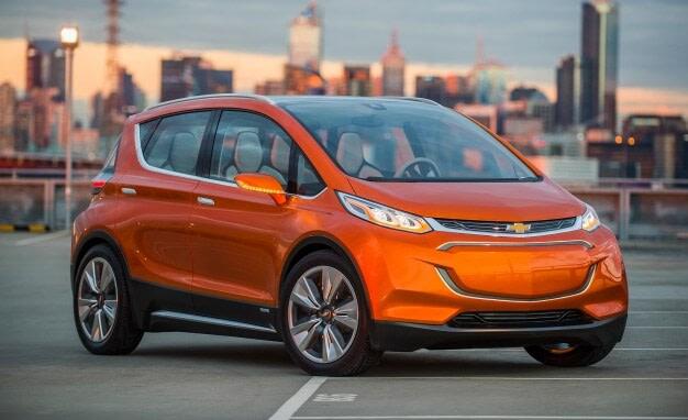 Chevrolet Bolt Concept masina electrica 2017