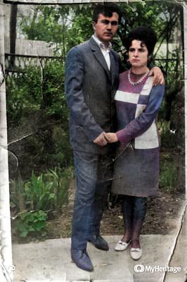 Fotografie colorizata prin MyHeritage