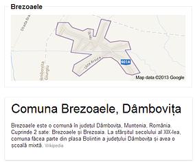 Comuna Brezoaele