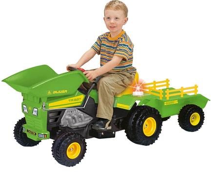 tractorasele electrice pentru copii