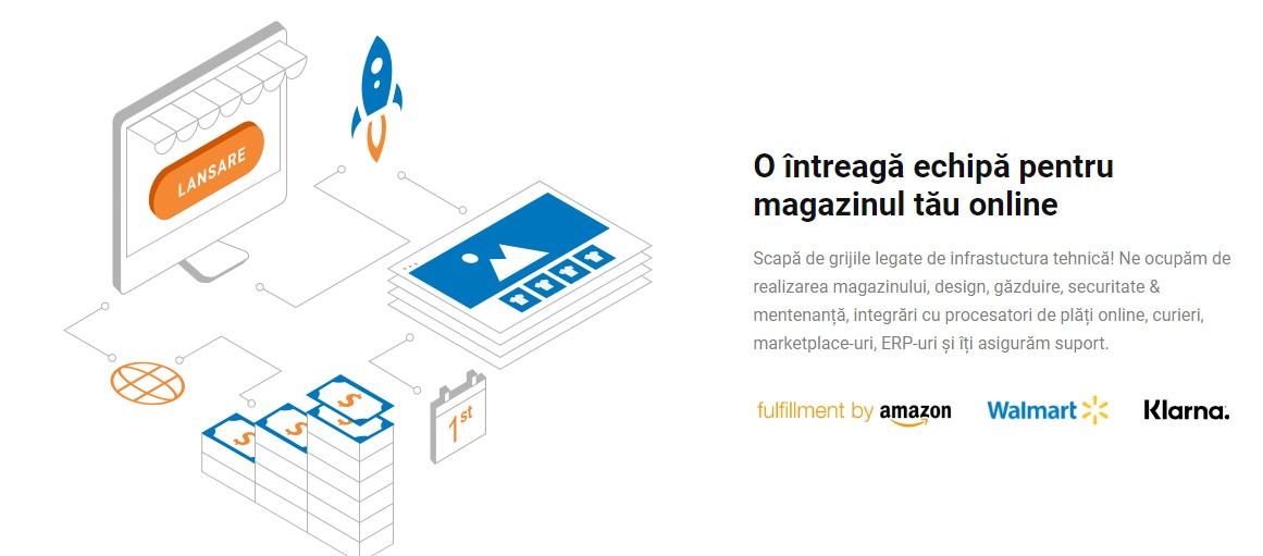 Platforma magazin online - Blugento.ro