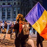 Catalin Georgescu - Protest pentru Rosia Montana (București)