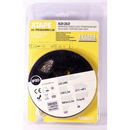 Banda LED tip Blister Arelux TPB36020WW