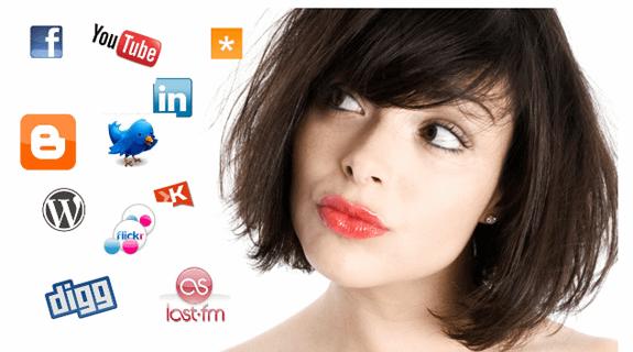 social media girl