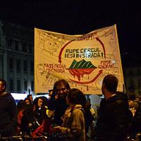 Denisa Mihaela - Protest pentru Rosia Montana (București)