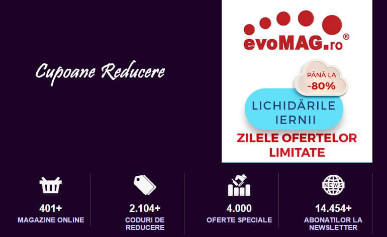 Vouchere Evomag: Cupoane de reduceri pentru electronice și electrocasnice. (P)