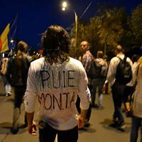 Diana Robu - Protest pentru Rosia Montana (București)