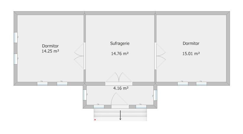 Plan casa - layout actual